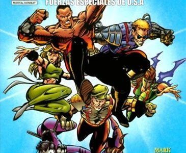 Mortal Kombat U.S. Special Forces Secrets Treasures [Comic] [02/02] [Jpg] [Mega]