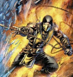 Mortal Kombat X [Comic] [36/36] [Jpg] [Mega]